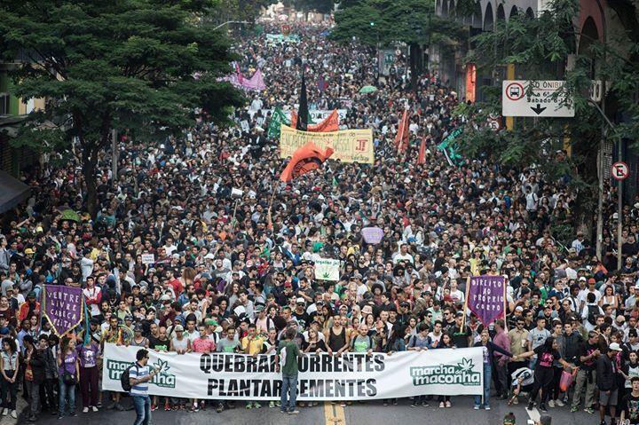 Resultado de imagem para marcha da maconha 2018